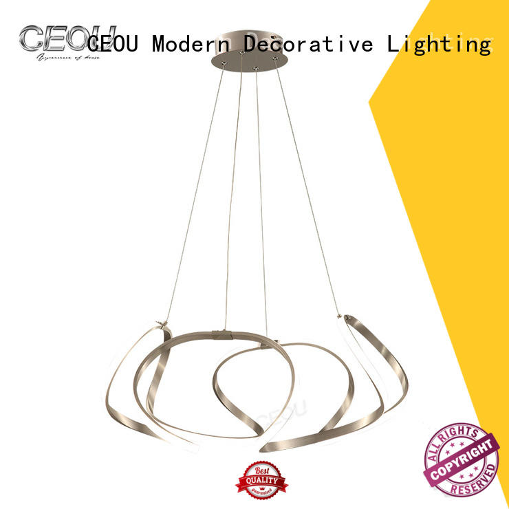 luxury fancy hanging lamps acrylic Supply for home decor