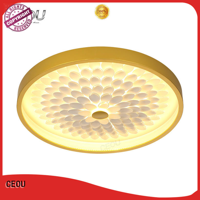 beautiful decorative led ceiling lights sunflower pattern Suppliers for living room