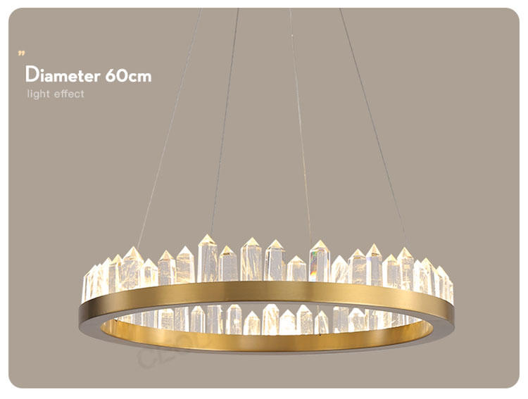 CEOU acrylic pendant chandelier manufacturer for dinning room-1