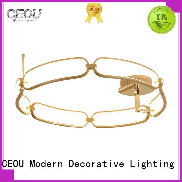 creative led ceiling lamp flower shape supplier for home decor