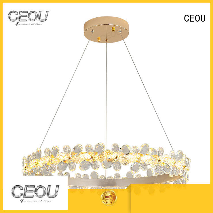 CEOU circular hanging lamps for bedroom customized for dinning room