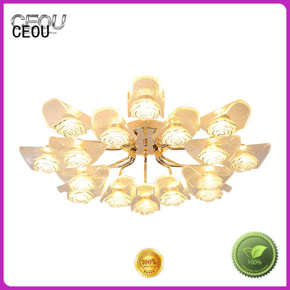 CEOU luxury modern ceiling light high quality for bedroom