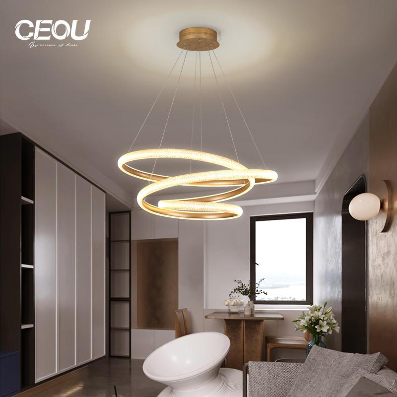 2020 new design luxury chandelier living room lamp modern creative artist led Nordic lamps