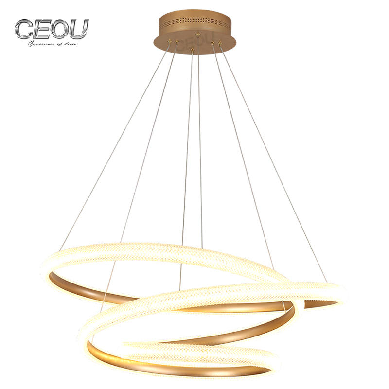 2020 new design luxury chandelier living room lamp modern creative artist led Nordic lamps