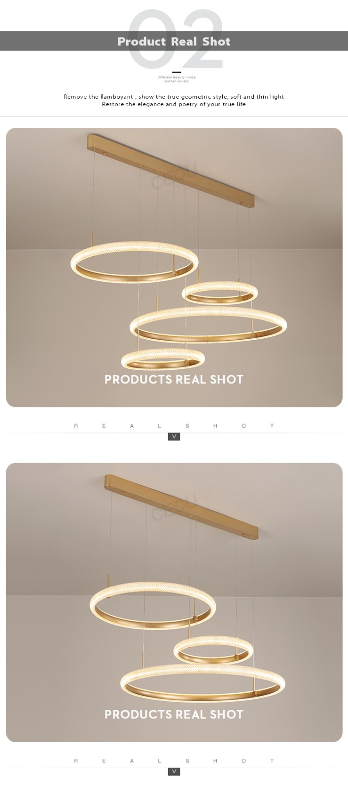 product-CEOU-Wholesale Simple atmosphere pendant light for dining room Nordic wind chandelier light
