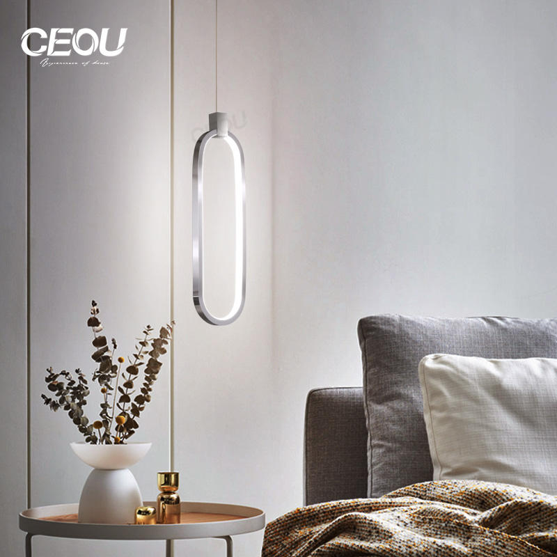 Nordic simple light luxury lamps dining table minimalist creative personality art restaurant bar small chandelier