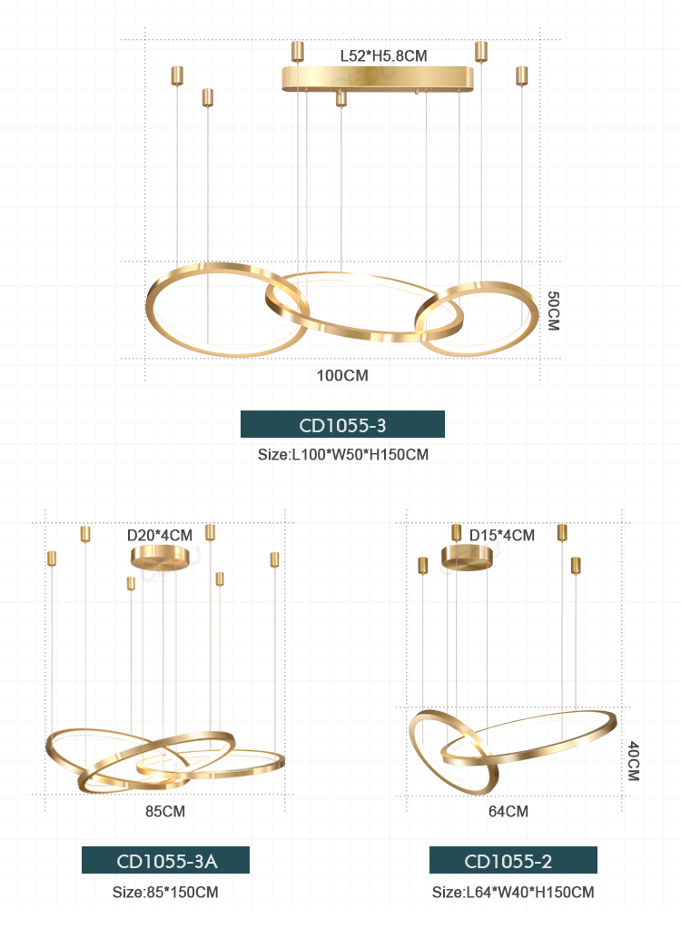 product-LED chandelier-CEOU-img