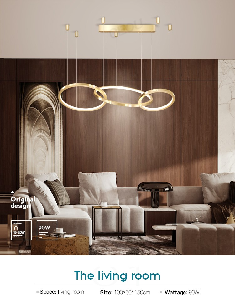 product-CEOU-Professional Post-modern light luxury living room chandelier atmosphere dining room cha-1