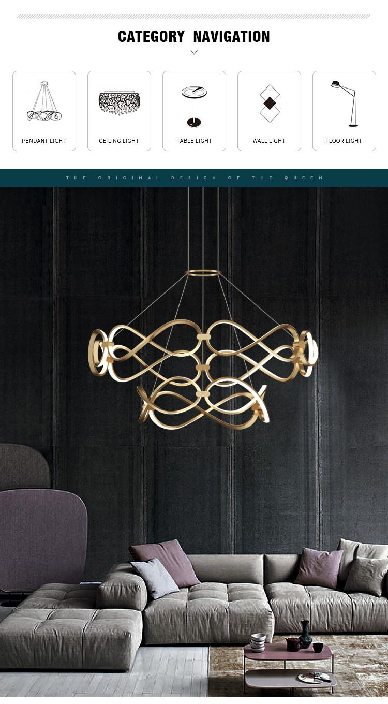 product-LED luxury pendant light-CEOU-img