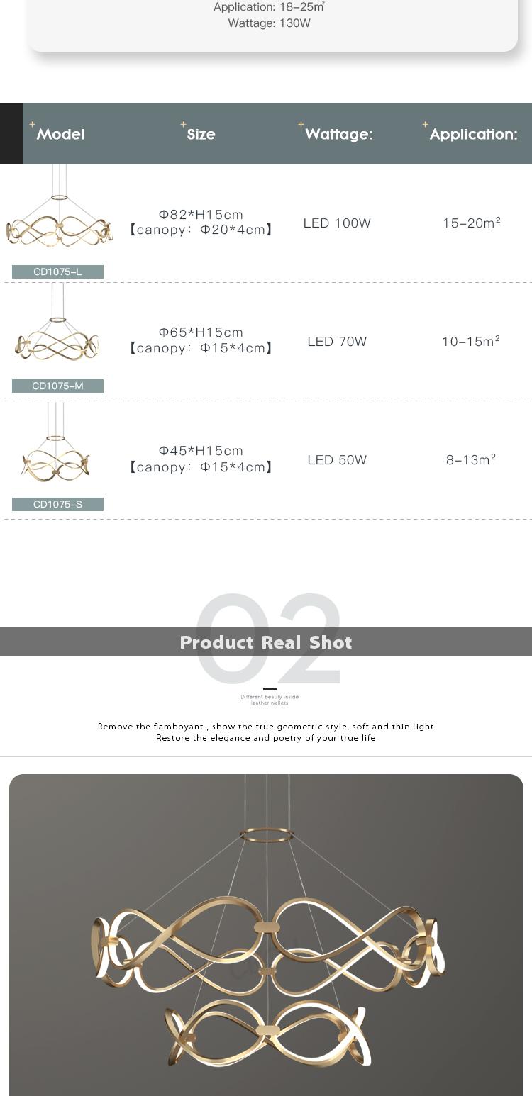 product-CEOU-LED luxury pendant light-img