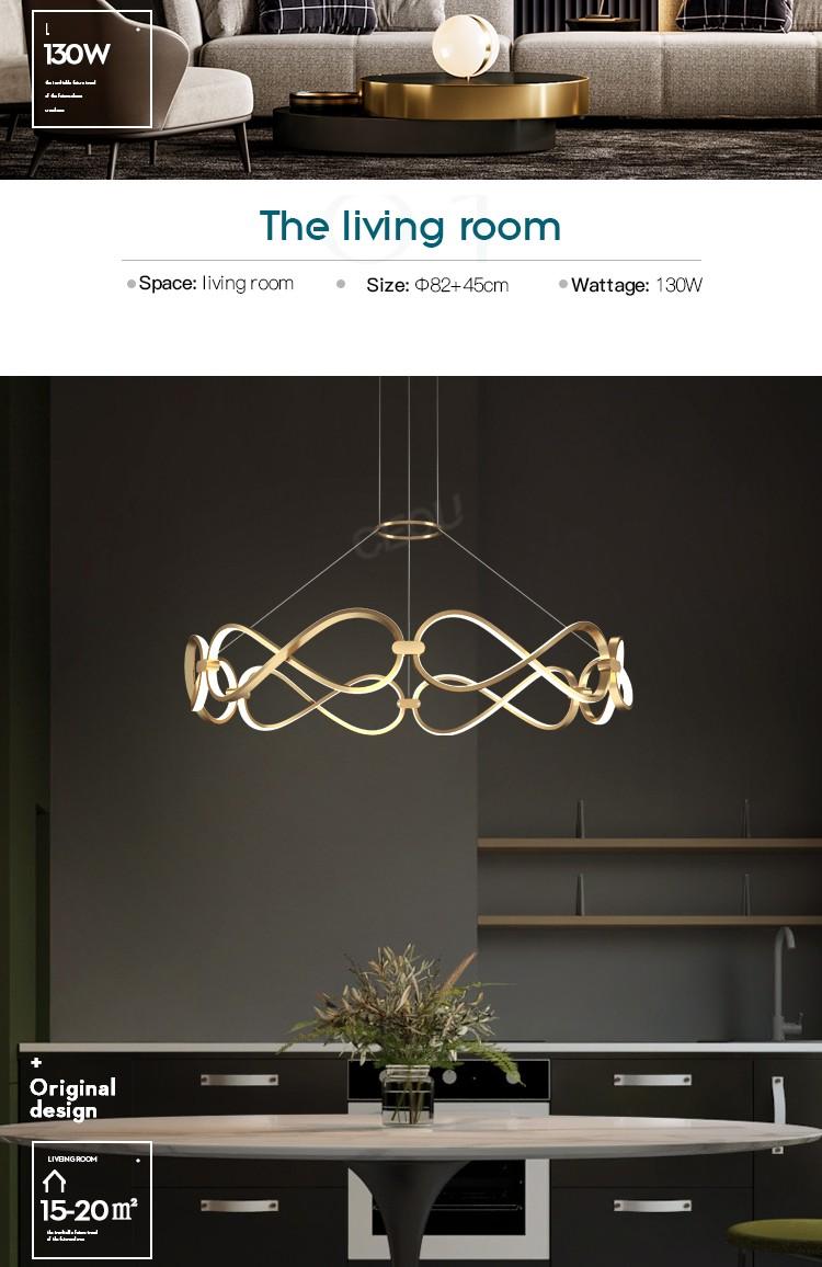product-LED luxury pendant light-CEOU-img-1